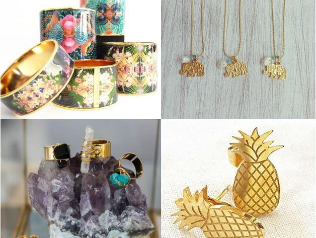 Sélection de bijoux artisanaux Bachué Bijoux - Colombie